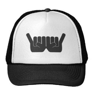 Rock Sign Double Hat