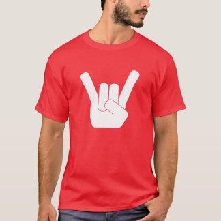 Rock Sign White T-Shirt