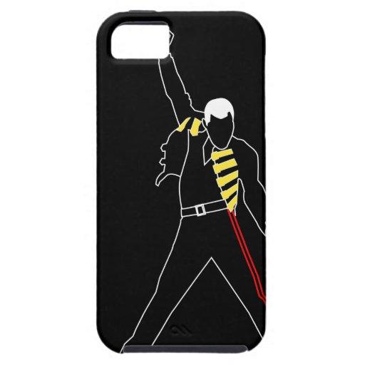 rock singer iPhone 5 Case