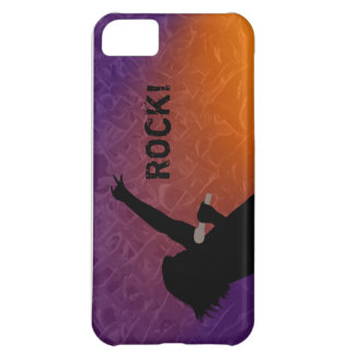 Rock Singer's silhouette With a Crowd Case For iPhone 5C
