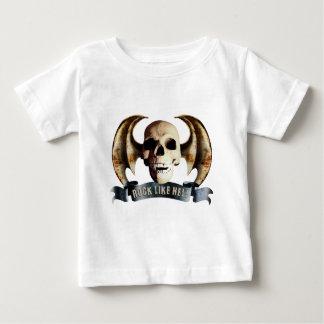 rock skull baby T-Shirt