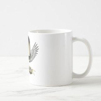 rock skull coffee mug