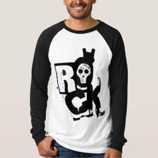 Rock Skull Raglan T-Shirt