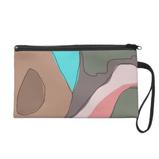 Rock Sky by James Black Wristlet Purse