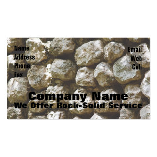 Rock Solid Business Card Templates