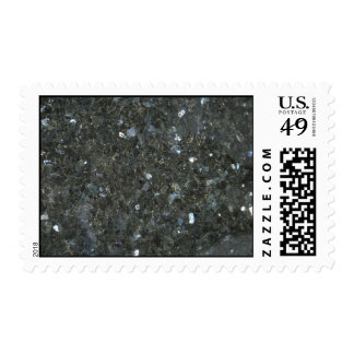 Rock Solid Charcoal aggregate Postage Stamps
