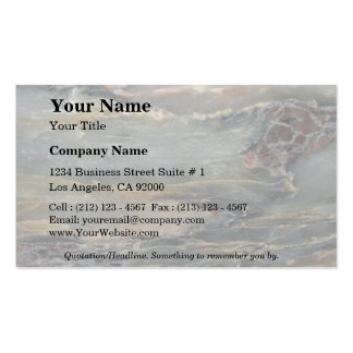 Rock Solid Earth layers Double-Sided Standard Business Cards (Pack Of 100)