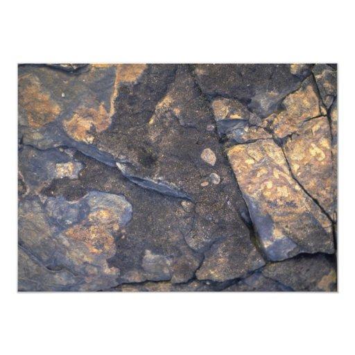 """Rock Solid High sierra 5"""" X 7"""" Invitation Card"""