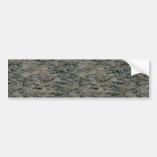 Rock Solid Linear black Bumper Sticker