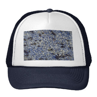 Rock Solid Old enamel blue Trucker Hat