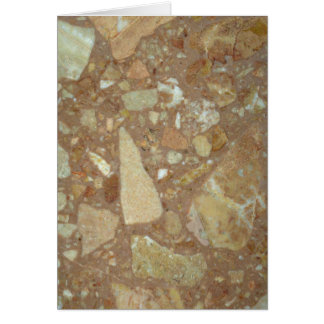 Rock Solid Sedimentary Greeting Card