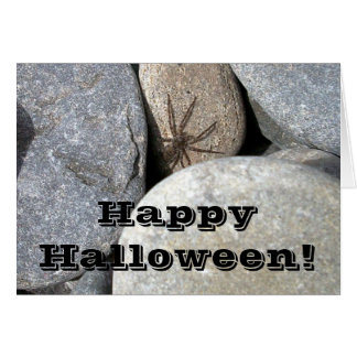 Rock Spider Greeting Card