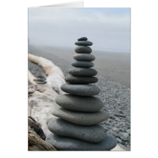 Rock Stack Greeting Cards