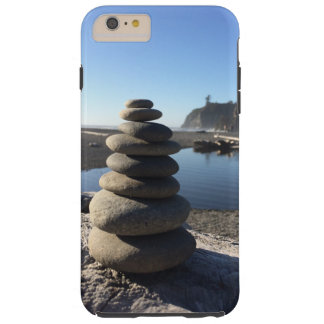Rock Stacks at Ruby Beach Tough iPhone 6 Plus Case