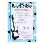 ROCK STAR 5x7 Rocker Baby Shower Invitation