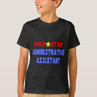 Rock Star Administrative Assistant T-Shirt