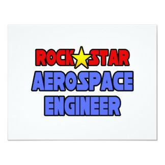 Rock Star Aerospace Engineer Custom Announcement