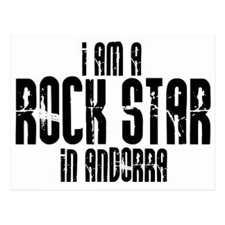 Rock Star Andorra Postcard