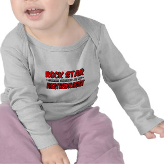 Rock Star Anesthesiologist Tee Shirts