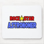 Rock Star Astronomer Mouse Pads