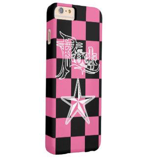 Rock Star B+Pk Checker iPhone6 Plus Cases