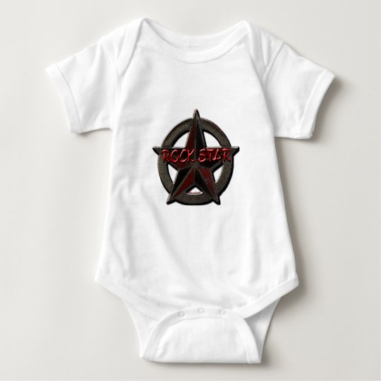 Rock Star Baby Bodysuit