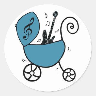 Rock Star Baby Boy Stickers