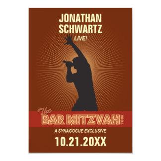 Rock Star Bar Mitzvah Invitation