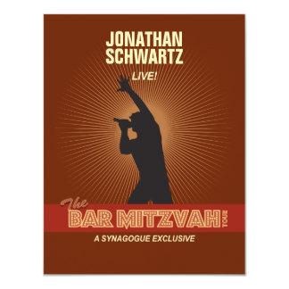 Rock Star Bar Mitzvah Reply Card