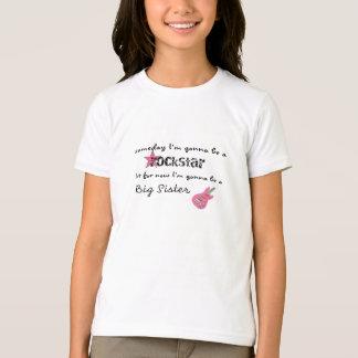 Rock Star Big Sister T-Shirt