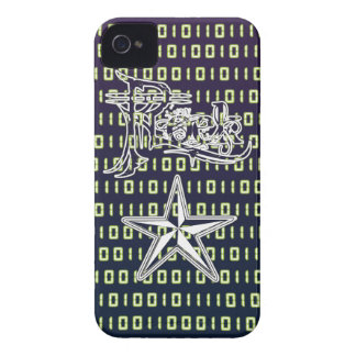 Rock Star Binary Code iPhone4/4S Cases
