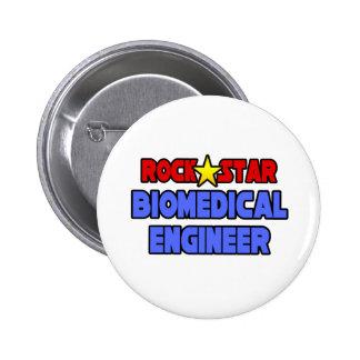 Rock Star Biomedical Engineer Pinback Buttons