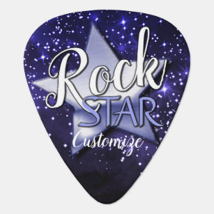 galaxy guitar picks guitar accessories zazzle. Black Bedroom Furniture Sets. Home Design Ideas