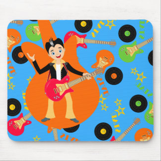 Rock Star Boy birthday party Mouse Pad