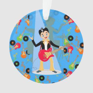 Rock Star Boy birthday party Ornament