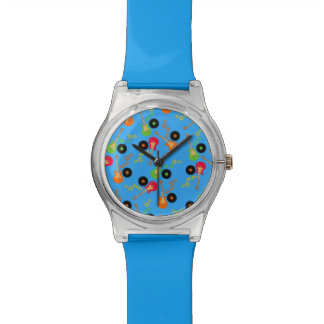 Rock Star Boy birthday party Watches