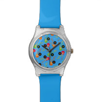 Rock Star Boy birthday party Wrist Watch