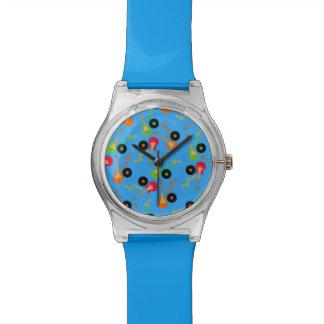 Rock Star Boy birthday party Wrist Watch