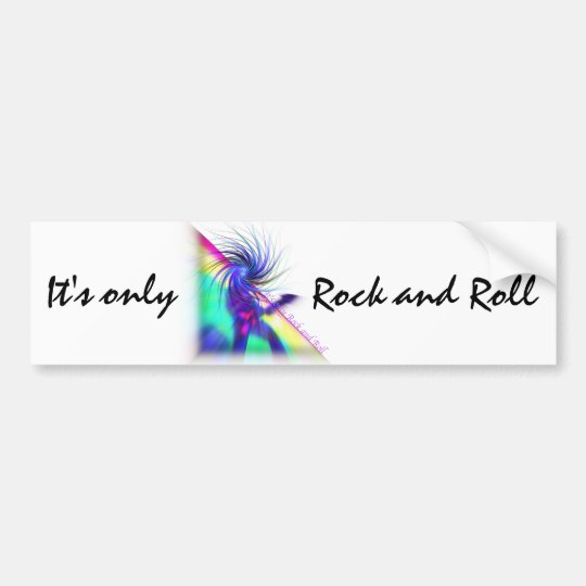Rock Star Bumper Sticker