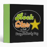 Rock Star By Night - Busy Mother By Day Binders