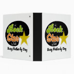 Rock Star By Night Busy Mother By Day Photo Album Vinyl Binder