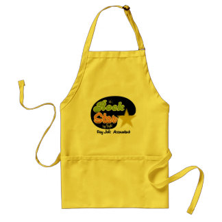 Rock Star By Night - Day Job Accountant Adult Apron
