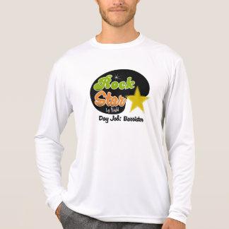 Rock Star By Night - Day Job Barrister T Shirt