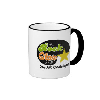 Rock Star By Night - Day Job Cardiologist Coffee Mug