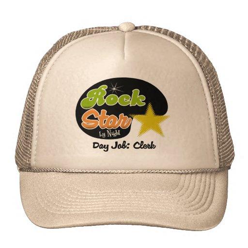 Rock Star By Night - Day Job Clerk Trucker Hat