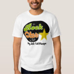 Rock Star By Night - Day Job Lab Manager Shirts
