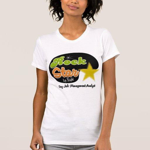 Rock Star By Night - Day Job Management Analyst T Shirt T-Shirt, Hoodie, Sweatshirt