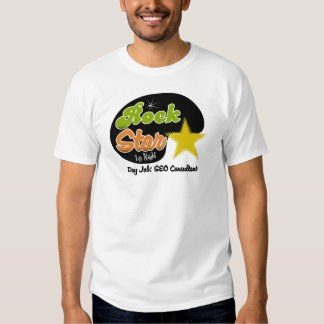 Rock Star By Night - Day Job SEO Consultant T Shirts