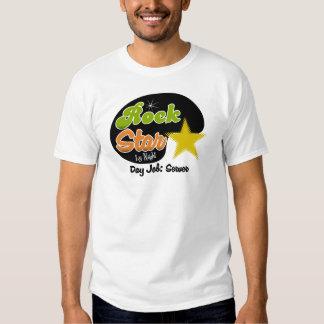 Rock Star By Night - Day Job Server Shirt