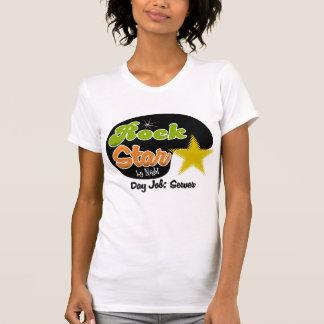 Rock Star By Night - Day Job Server T Shirt